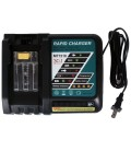 New Lithium ion Battery Charger for Makita 18v Lithium-Ion Battery BL1830 BL1815