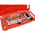 45°Traditional Extrusion Type Flaring & Swaging Tool Kit w/ case