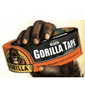 Black Gorilla Duct Tape Roll Tough Wide Waterproof Adhesive Cloth Scotch Crafts