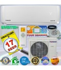 PIONEER 24000 BTU 17 SEER DC Inverter+ Ductless Mini Split Heat Pump Set 230V