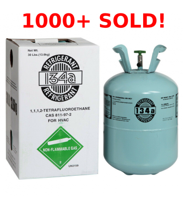R134A Refrigerant- 30lb Cylinder for AUTOMOTIVE
