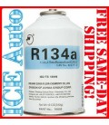 R-134a Auto Refrigerant 12 oz Can #70002 ISO/TS 16949 FREON