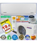 PIONEER 12000 BTU 19 SEER DC Inverter+ Ductless Mini Split Heat Pump Set 120V