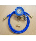 Low Side Manifold Gauge Set for R134a R404a R22 R410a