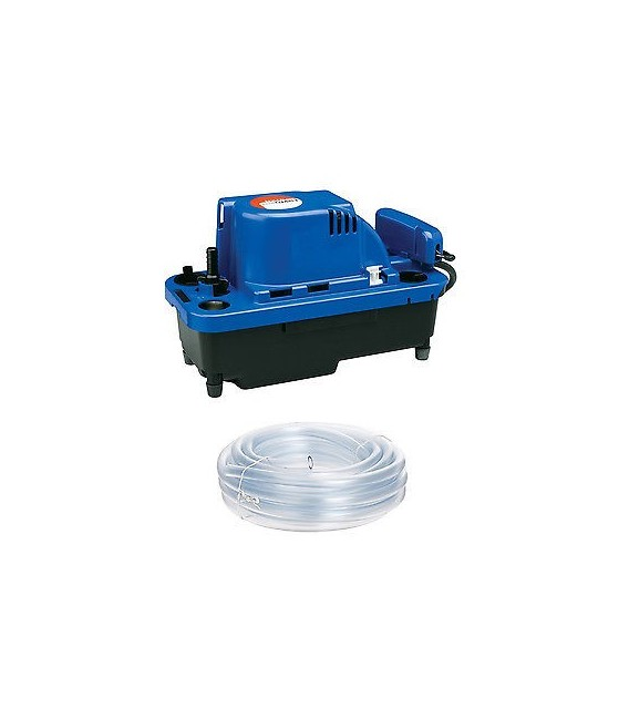 2 Pack Little Giant VCMX-20ULST NXTGen High-Capacity Condensate Removal Pump w//Tubing