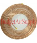 1/4  x 50ft Soft Copper Tubing HVAC Refrigeration  1/4 od